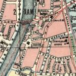 Карта Плющихи Ростовских переулков